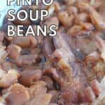 easy pinto soup beans instant pot