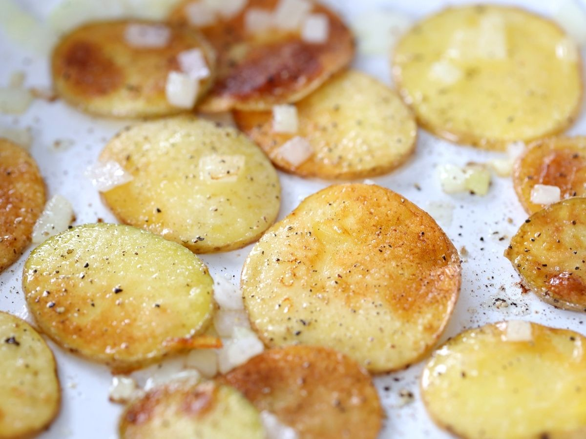 golden brown fried taters