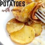 southern fried potatoes with onions salt and pepper