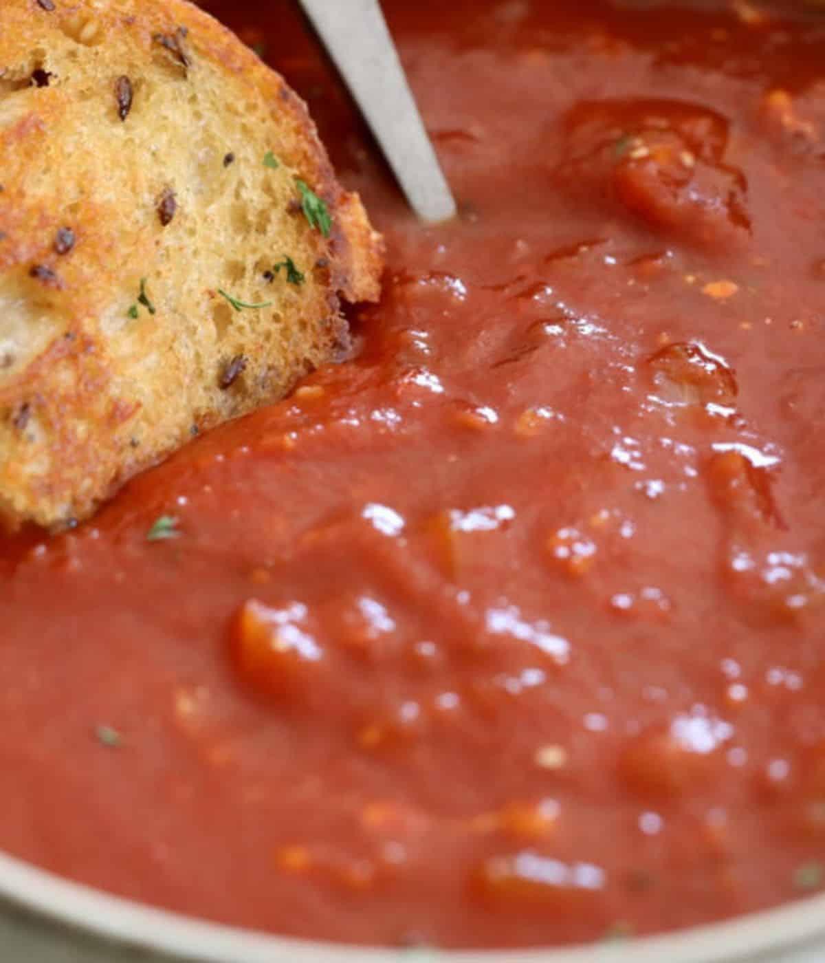 homestyle tomato soup