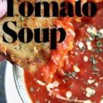 instant pot easy tomato soup