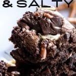 sweet and salty brownies