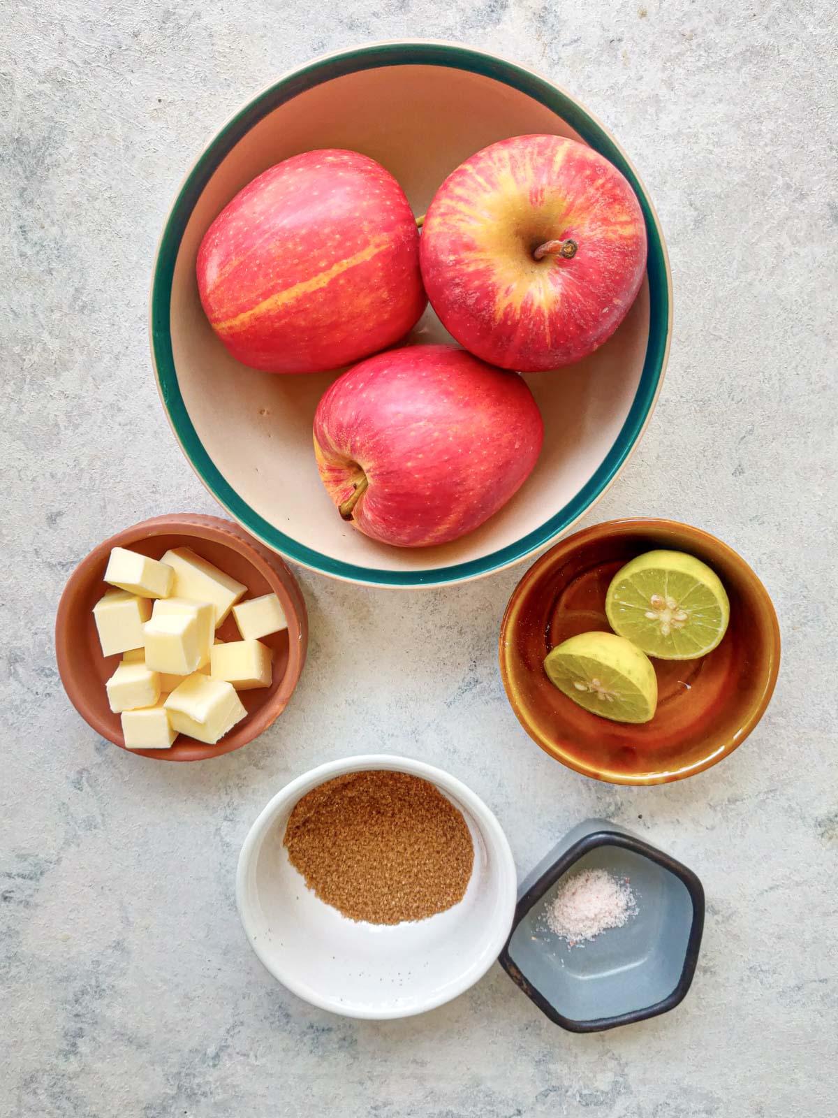 apple galette ingredients