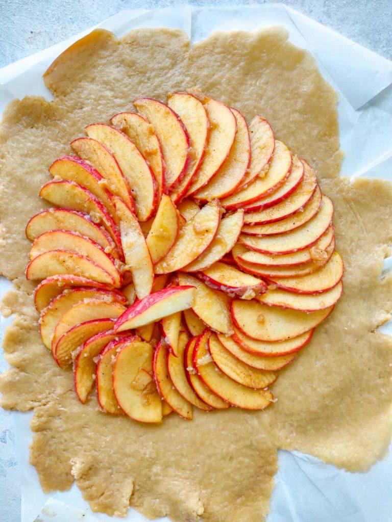 apple galette crust