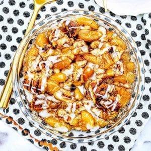 apple cinnamon cobbler